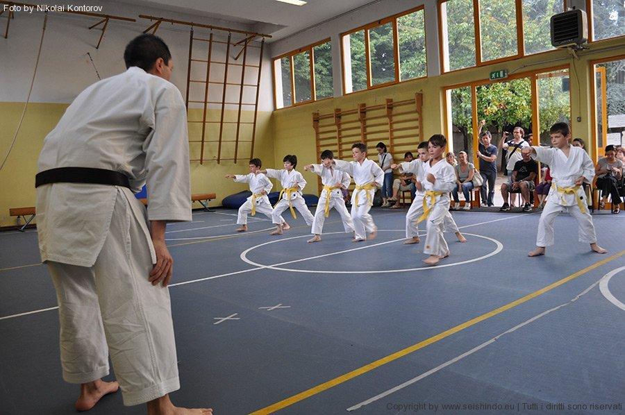 esame di karate