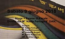 STAGE KARATE E ESAME - GIUGNO 2018