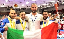 WUKF World Karate Championship, Scozia 2018