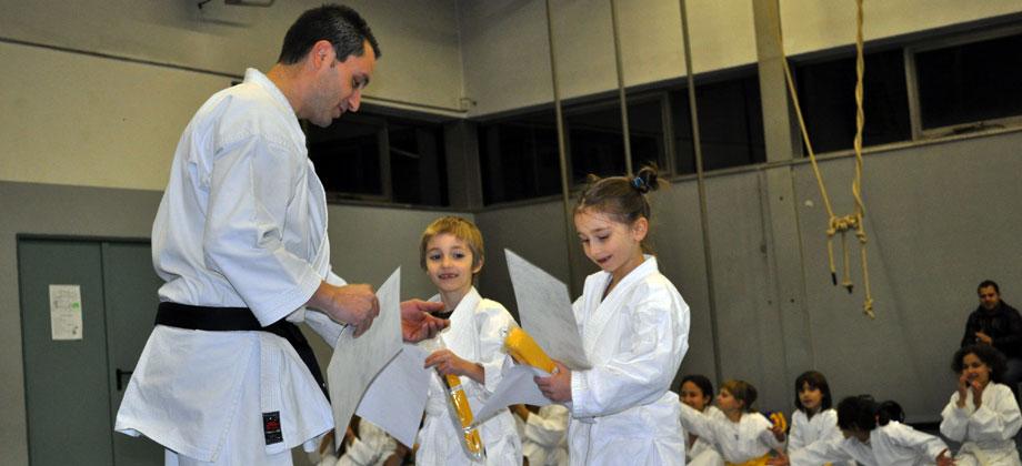 Fabio Raimondo / Seishindo / Esame Karate a Seregno 2010.