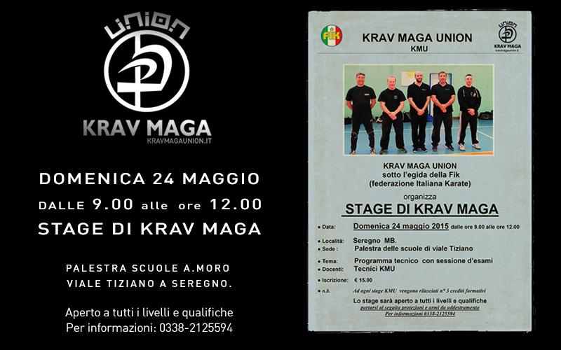 Krav Maga – Stage a Seregno