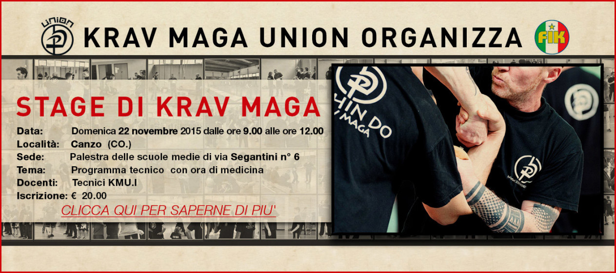 Stage Krav Maga Union