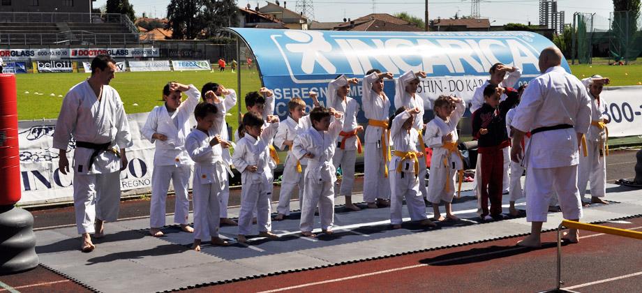 Presentazione karate - 9 Aprile Seregno / Seishindo