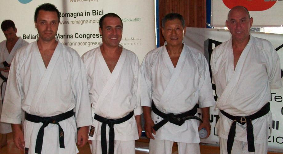 Stage con il M° Hiroshi Shirai, Igea Marina Agosto 2011