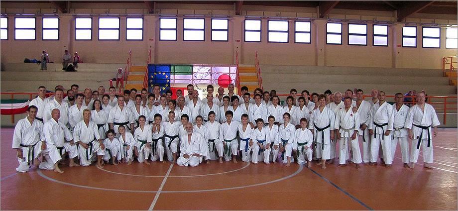 Stage Karate a Cerro (BG), Settembre 2014