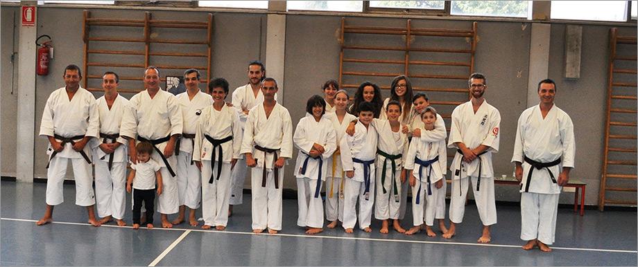 Stage  Karate 5 Ottobre 2014 a Seregno