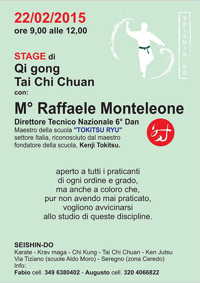 Stage di Qi gong  e Tai Chi Chuan