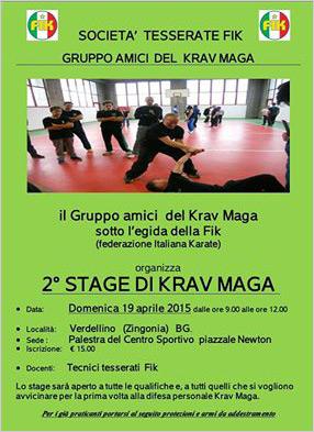 Krav Maga - Secondo stage