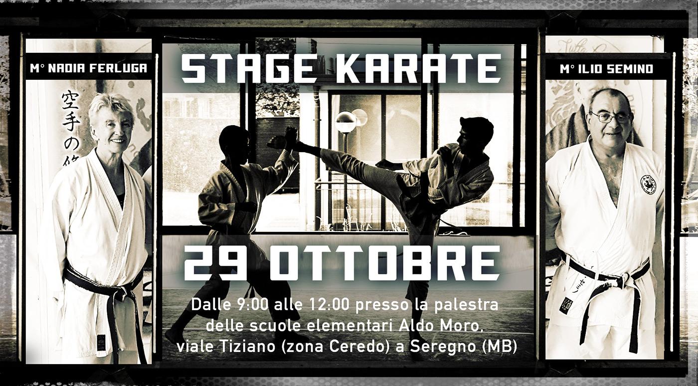 STAGE KARATE 29 OTTOBRE